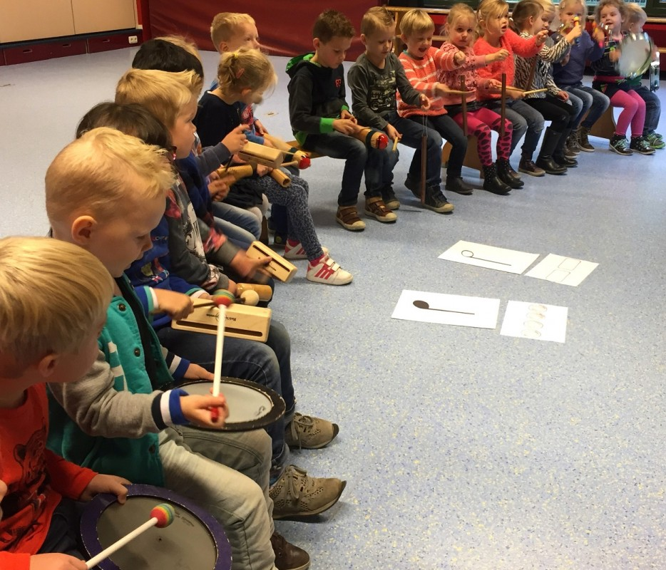 Muzieklessen op basisscholen in Zwartewaterland (oktober 2015)